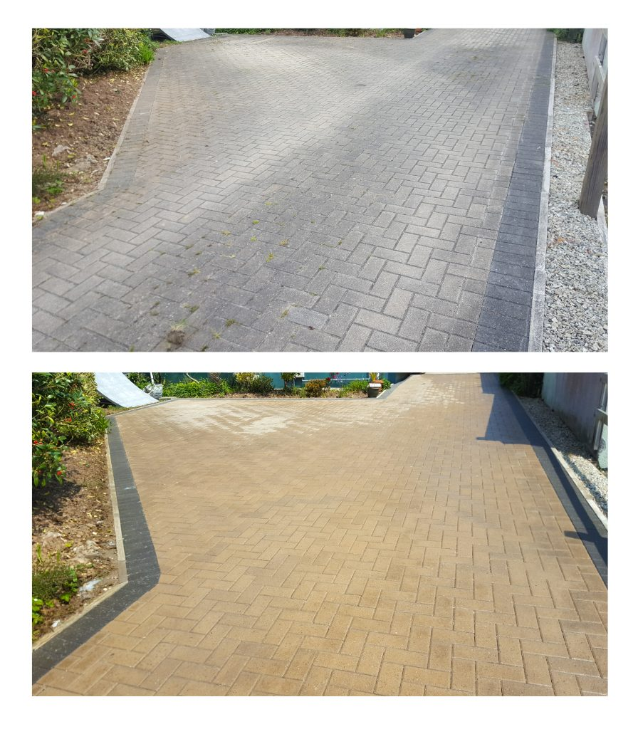 Block Paved Driveway Cleaning specialist
